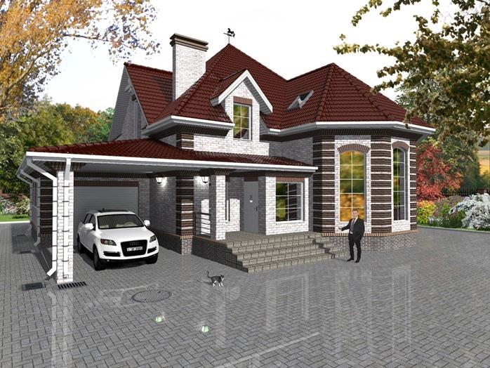 Строительство мансардных домов в Калининграде