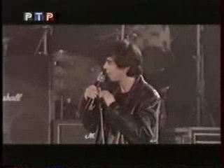Сергей Бодров на концерте Брат 2