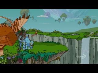 The simpsons avatar parody