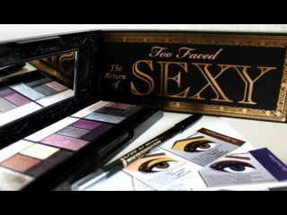 Обзор палетки Too Faced The Return Of Sexy Palette