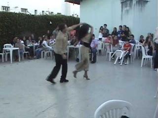 Marcos Pessoa e Ana Claudia Maldonado danando Zouk-Lambada em 24 05 09.