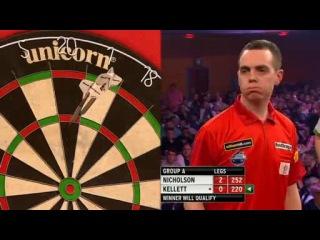 Paul Nicholson vs Stuart Kellett (Grand Slam of Darts 2013 / Group A)