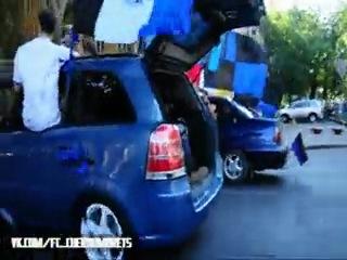 Отрезок авто пробега с Темой в багажнике ! =)