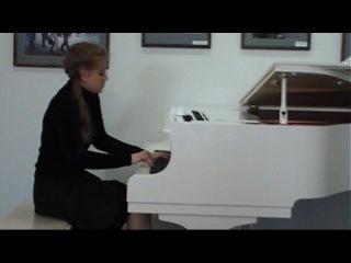 Вечер фортепианной музыки Варя Гомаюнова
