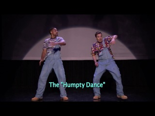 'Evolution of Hip-Hop Dancing' (w- Jimmy Fallon & Will Smith)