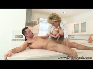 Lady-Sonia: Lady Sonia - Playtime With A Huge Young Stud (2014) HD