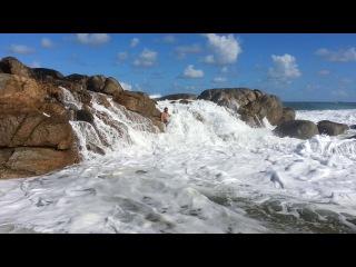 Tourguide Eddie Hartwig Fun in the sun Glenmore Beach Соутхафрица