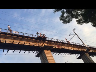 Let's fly 2way с моста в манихино