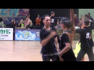Kiev Open 31 12 14 Adults IDSA 1 4 Ча ча