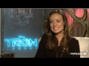 Olivia Wilde Chats About Tron Legacy, Starting New Hair Trends, and More!