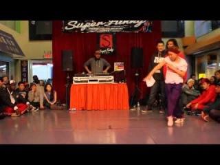 SUPER FUNKY 2012   POPPIN TOP 8   SNAP BOOGIE VS DASSY(WIN)