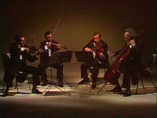 Borodin Quartet play Shostakovich String Quartet no. 8 - video 1984