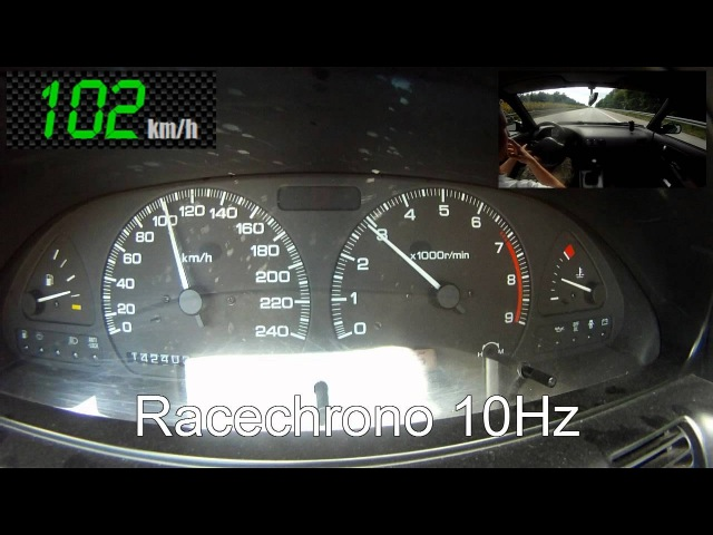 Nissan 200SX S13 with GARRETT GT2871R @1 4bar 100 200 100 250