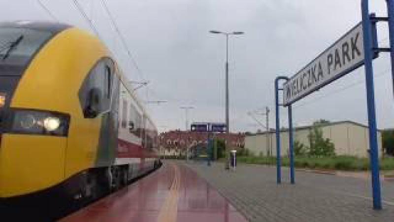 Stacja PKP Wieliczka Park Rynek Kopalnia Regio city