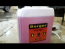 Тестирование автошампуня для бесконтактной мойки Börger Hell Fire