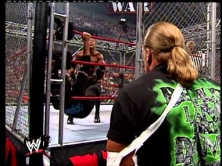 WWE/WWF - The Rock VS Shane McMahon Steel Cage Match - WWF titel match part 1