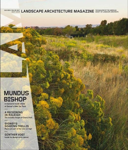 Landscape Architecture Magazine 2015-07