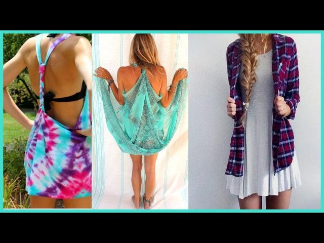 DIY Clothes Life Hacks IDEAS PARA INNOVAR ROPA Renueva y recicla!!