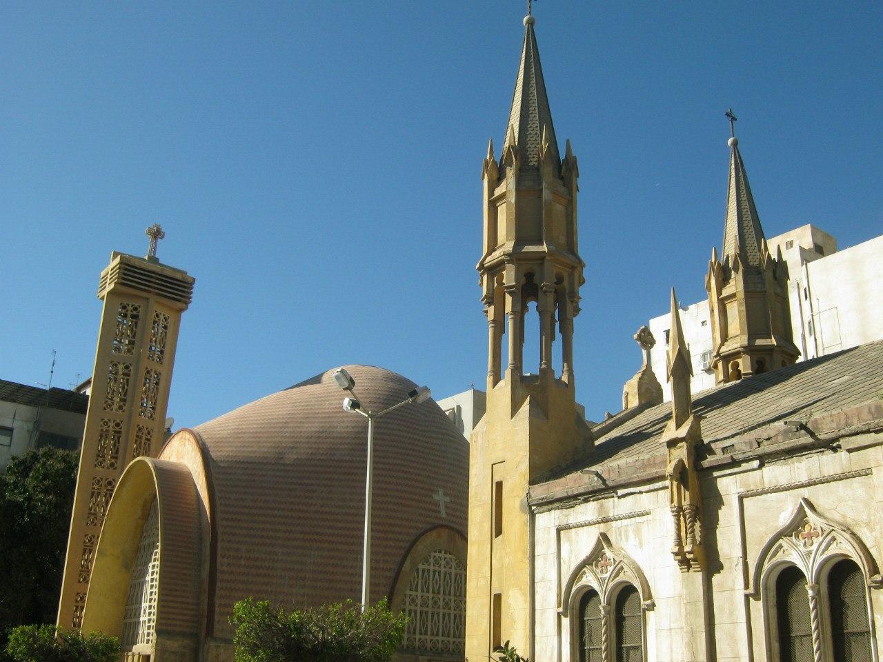 Церкви разных деноминаций в Порт-Саиде