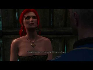 Witcher 3 A Matter Of Life And Death Triss Merigold