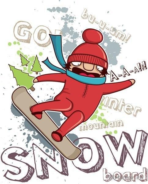 открытка с днем рождения сноубордисту важных
