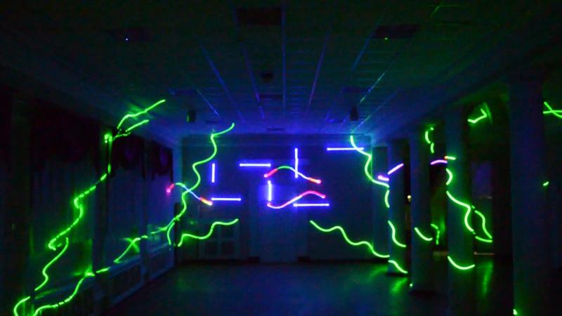 Лазерное шоу SpaceShow
