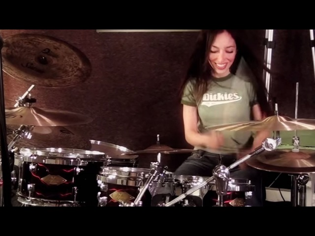 KORN FREAK ON A LEASH DRUM COVER BY MEYTAL COHEN