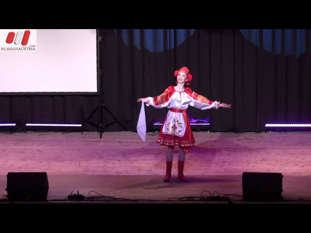 Русский танец Субботея Екатерина Береговенко Мытищи Россия