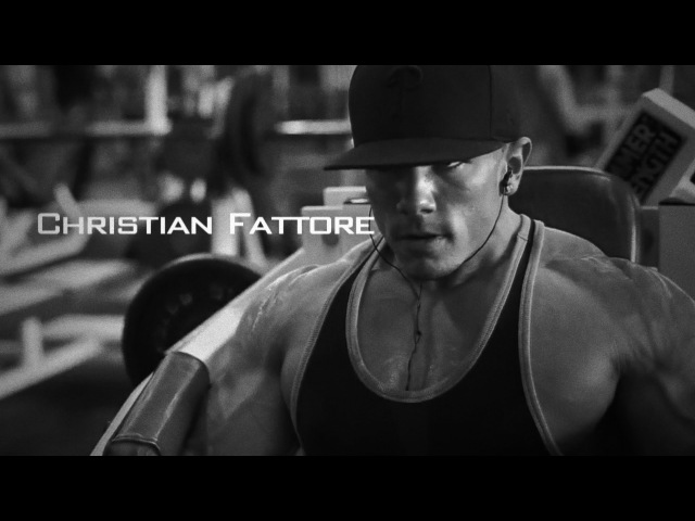 Motivational Bodybuilder 3 Christian Fattore