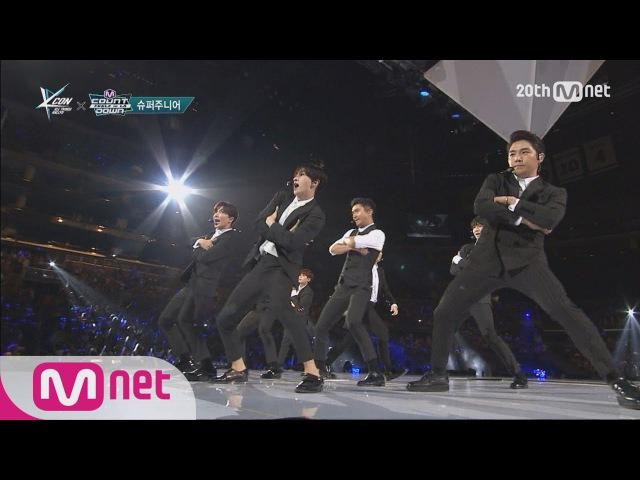 Super Junior 슈퍼주니어 'SORRY SORRY' M COUNTDOWN FEELZ in LA 150813 EP 437