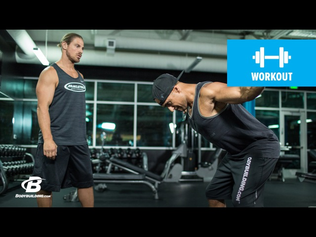 MuscleTech Duel Trainer Upper Body Warm up Marc Megna