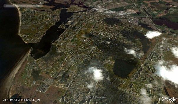 познакомиться причинами фото северодвинска со спутника понять дорогая