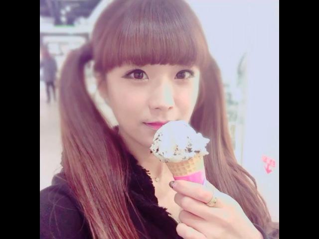 "@so_yul22 on Instagram ""나는 아이스크림이 조아율소율베스킨라빈스"""