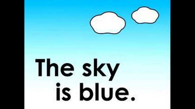 What Color is the Sky children's song 空は何色?のうた