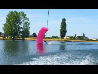 Parachute + Rope + Boat = DIY Parasailing  //  Teem Originals