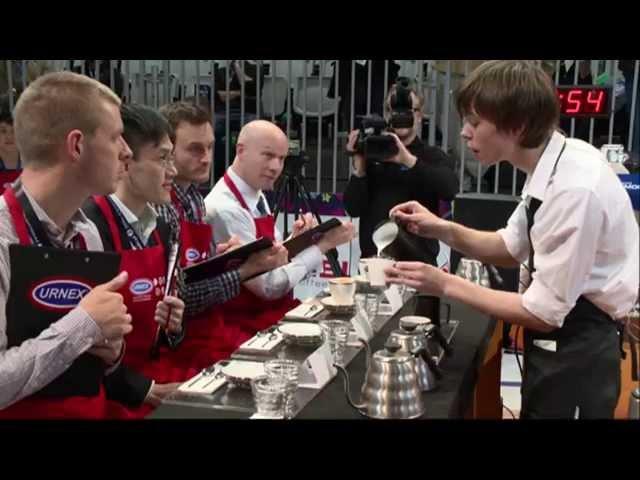 2013 World Barista Championship Round 1 Dmitry Boroday Russia