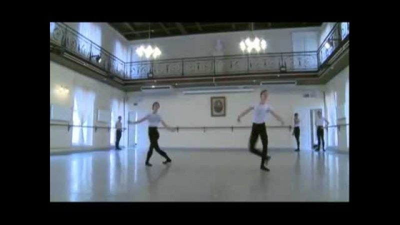 Boys time of formation 2012 Vaganova Academy l test for boys 7 Ballet 3