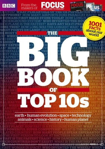 BBC Focus The Big Book of Top 10s - 2015  UK