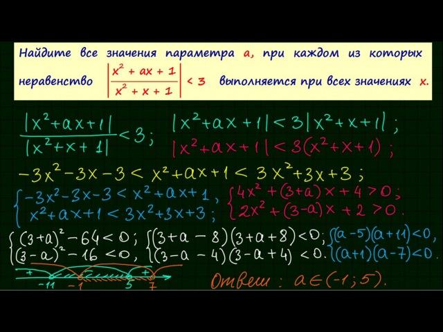 Задание 18 ЕГЭ по математике 13
