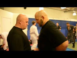 Как защититься от ножа. Тренировка Федоришена Юрия Михалыча и Черни Владимира Цезаревича