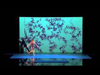 amazing dance!! Blue Journey  Gorgeous Projection Dance Set to Radiohead   America's Got Talent 2014