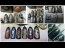 Юлия Билей Перламутровые ракушки Julia Biley Pearly seashell nail art Periscope