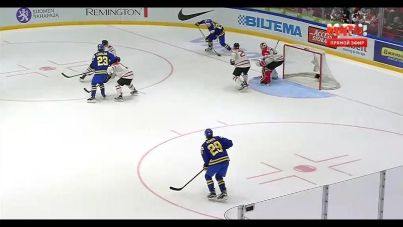 Швеция Канада МЧМ 2015 2016