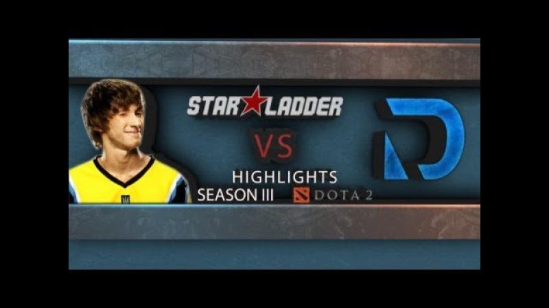 Dendi Pudge vs Darer @ StarLadder S3 Highlights
