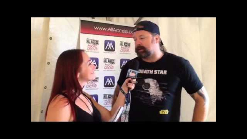 Interview with Peter Iwers Rock On The Range 2015