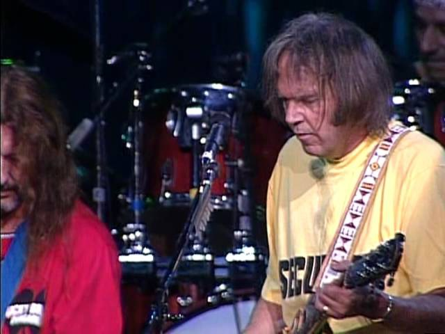 Neil Young and Crazy Horse Down By the River Live at Farm Aid 1994