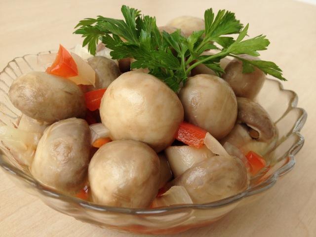 Как Сделать Маринованные Грибы Дома (Шампиньоны) Очень вкусно! | Marinated Mushrooms, Subtitles
