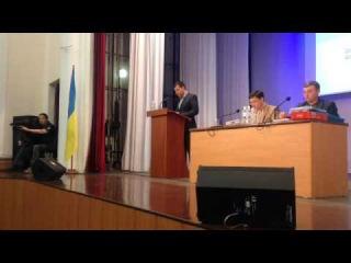 Общественник вывел мэра Мариуполя из себя