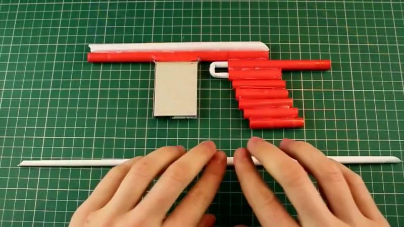 Как сделать пистолет из Бумаги, который СТРЕЛЯЕТ » FreeWka - Смотреть онлайн в хорошем качестве