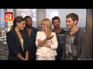 Funny Moments: with the Originals and TVD cast